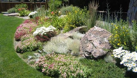landscape features landscape mounds tahoe landscaping