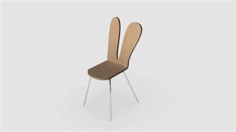 Bunny Chair by Sanaa Rabbit Chair Catherine Stepien On Vimeo