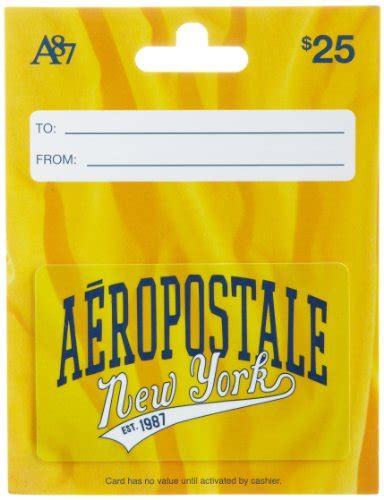 Aeropostale Gift Card - aeropostale gift card 25 shop giftcards