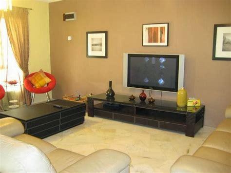 desain interior ruang tamu warna coklat interior eksterior rumah minimalis artikel warna cat