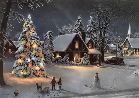 images of christmas scenes 136 best vintage christmas scenes images on pinterest