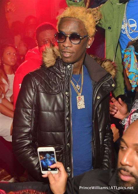blonde hair young thug rappers with blonde hair back in trend