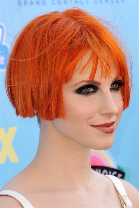 Hayley Williams Hairstyles hayley williams hairstyles hair colors style
