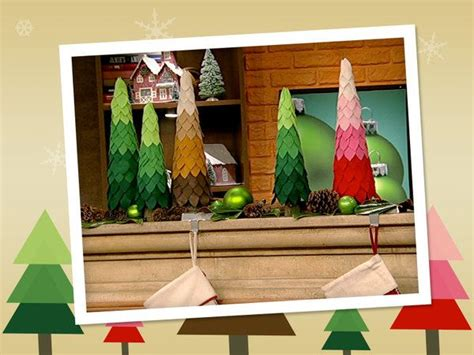 the chew felt christmas tree crafts pinterest
