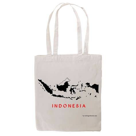 Indonesia Tote Bag peta indonesia tote bag indonesia