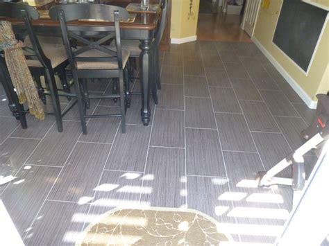 porcelain tile flooring running bond pattern