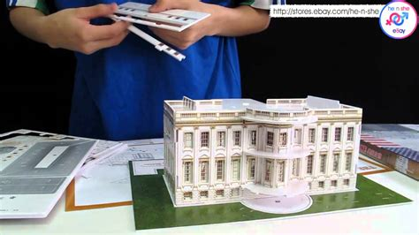 How To Make A House Out Of Construction Paper - build a white house at home