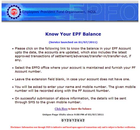 check my provident fund account how to check your epf balance online