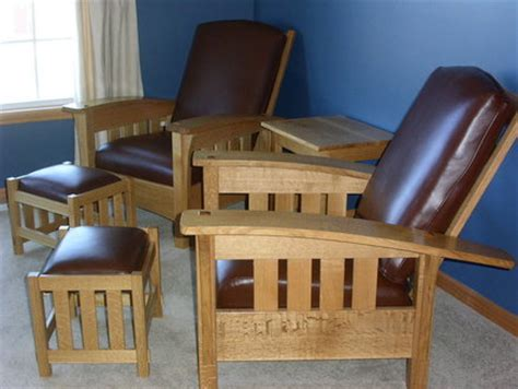 popular wooden project get bow arm morris chair