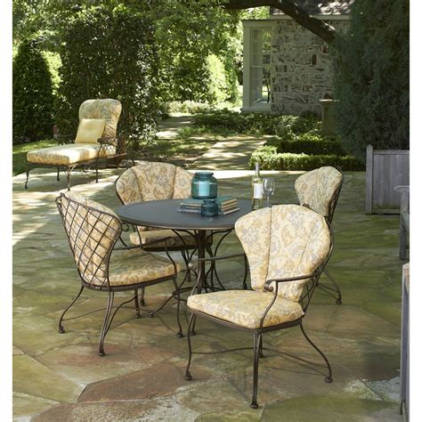 Woodard Patio Furniture Furniture For Patio Woodard 5 Brayden Patio Dining Set