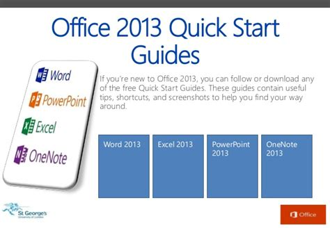 start guide template sgul office 2013 start guide adapted from