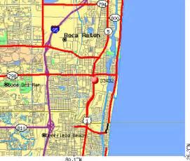 map of florida showing boca raton 33432 zip code boca raton florida profile homes