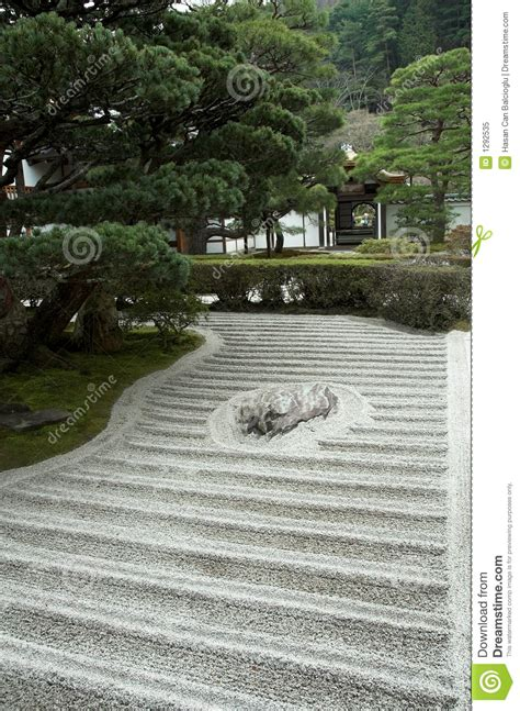 Japanese Rock Garden History Japanese Rock Garden Zen Garden Royalty Free Stock Photo Image 1292535