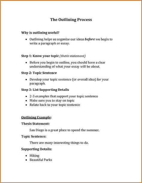 sentence template topic sentence starters for essays