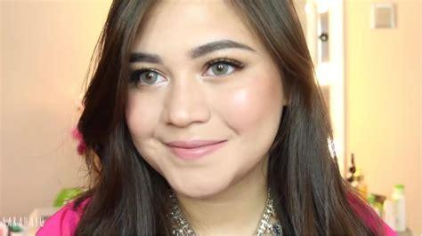 tutorial makeup sarah ayu gaya makeup untuk lebaran by sarah ayu cosmetics