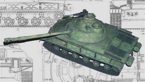 Papercraft Tanks - object 907 medium tank free paper model