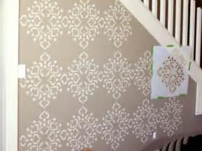 wall template stencils how to stencil a focal wall hgtv