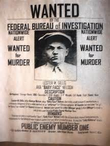 1920s wanted poster template 104 gangster baby nelson wanted reward depression
