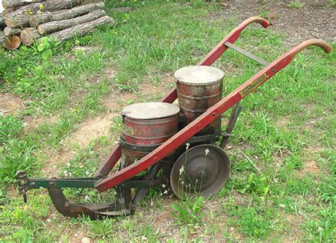Antique Seed Planter For Sale by Antique Cole Manufacturing Co Corn Planter