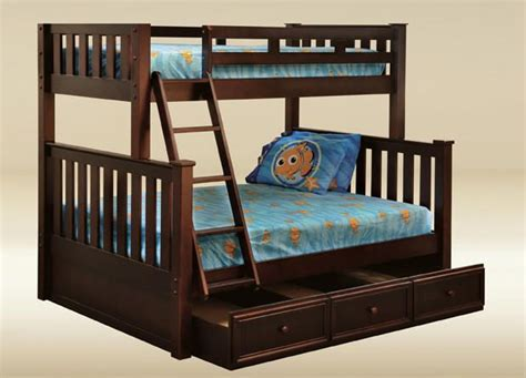 bunk beds full over queen full over queen bunk bed plans free woodworking projects
