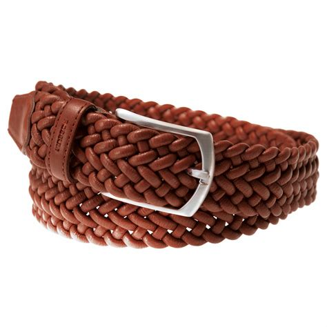 Woven Belt buy elasticated woven leather belt
