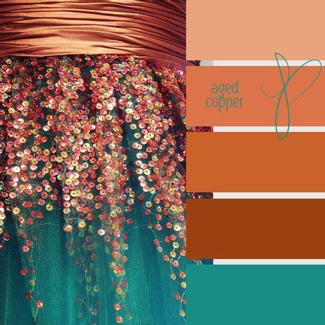 colors that go with copper kleur het jaar 2015 copper orange inspiraties