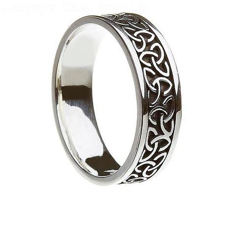 Celtic Wedding Rings by Unisex Knot Ring Celtic Rings Ltd