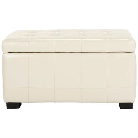 off white storage bench simpli home kingsley burnt umber tan storage bench 3axcot