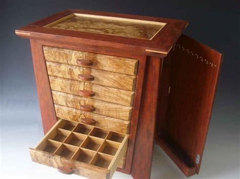 wooden storage chest handmade wooden jewelry box plans