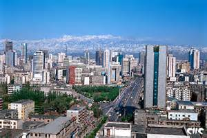 City Of Panorama Of Urumqi City