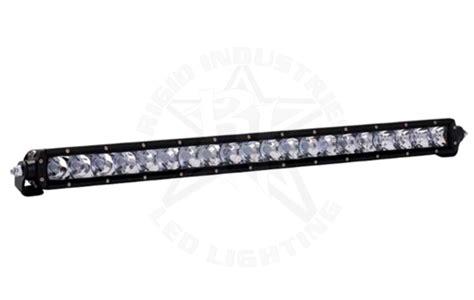 rigid 20 led light bar rigid sr series 20 quot led light bar