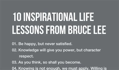 striking imbalance of rights lessons learnt from us and 10 inspirational life lessons from bruce lee