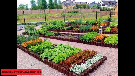 raised bed garden backyard vegetable garden design ideas