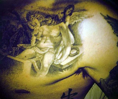 tattoo beckham gesu tatouages de stars david beckham inkage