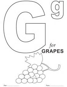 letter g coloring page letter g coloring pages az coloring pages