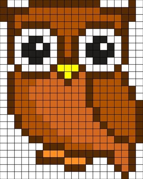 perler bead patterns owl owl perler perler bead pattern bead sprites misc fuse