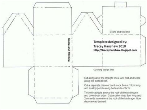card house template paperhouse template papercraft juxtapost