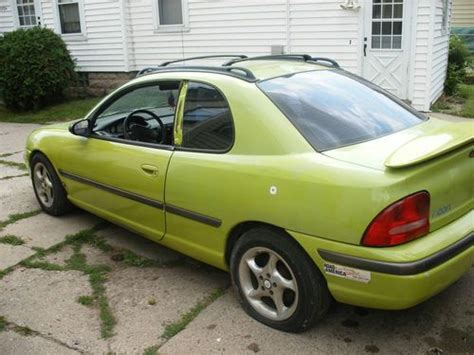 car owners manuals for sale 1995 dodge neon electronic toll collection find used 1995 plymouth neon nitro yellow green sport coupe in fond du lac wisconsin united