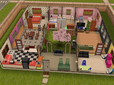 sims freeplay house ideas building plans 53175