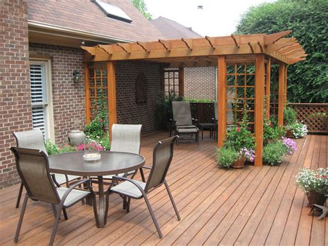 Outside Deck Ideas by Backyard Patio Covers From Usefulness To Style Homesfeed