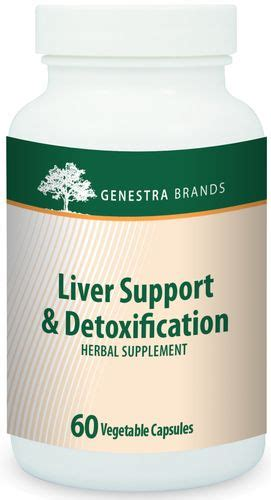 Liver Detox Support Herbs And Nutrients by Liver Support And Detox By Genestra Freshest Vitamins