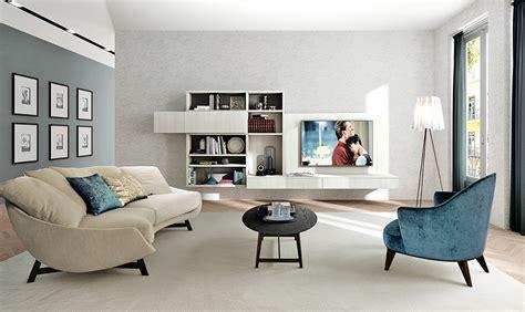 living mobili soggiorno realizzare l angolo hi tech formato famiglia in salotto