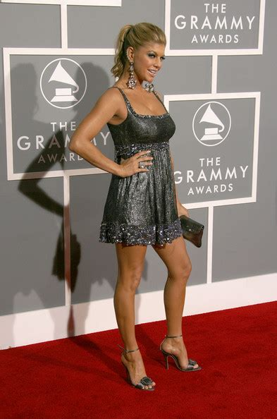 Grammy Awards Fergie by Fergie In 49th Annual Grammy Awards Arrivals Zimbio