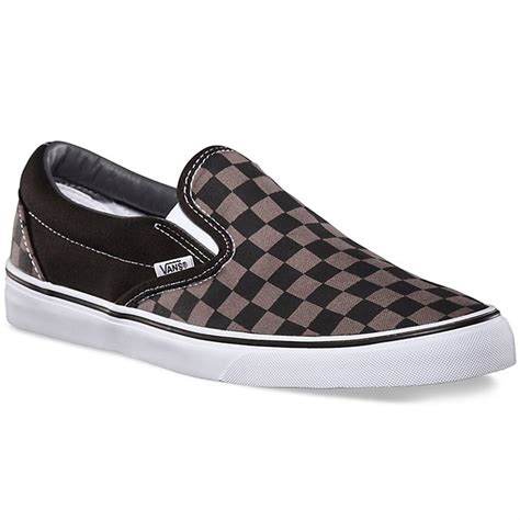 Vans Checkerboard Original vans classic slip on shoes big boys evo outlet