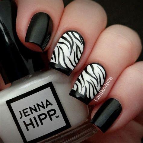 40 classy black nail art designs for hot women best 25 zebra nail designs ideas on pinterest zebra nail art zebra print nails and pretty nails