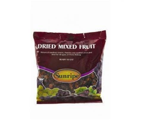 mix dried fruits 250gram sunripe dried mixed fruit 250g tonyson supermarket