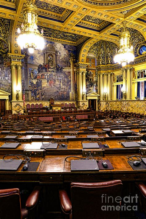 pa house of representatives pennsylvania house of representatives photograph by
