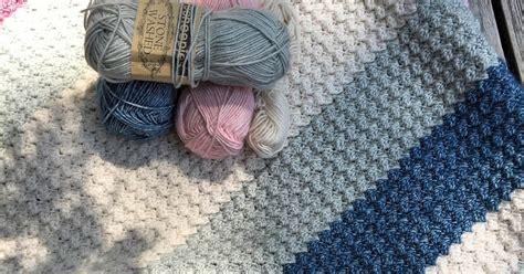 Sprei California No 1 Haak En Pen Golfjes Steek Blanket Stitch