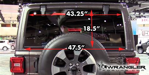jeep trunk dimensions jl wrangler unlimited dimensions measurements cargo