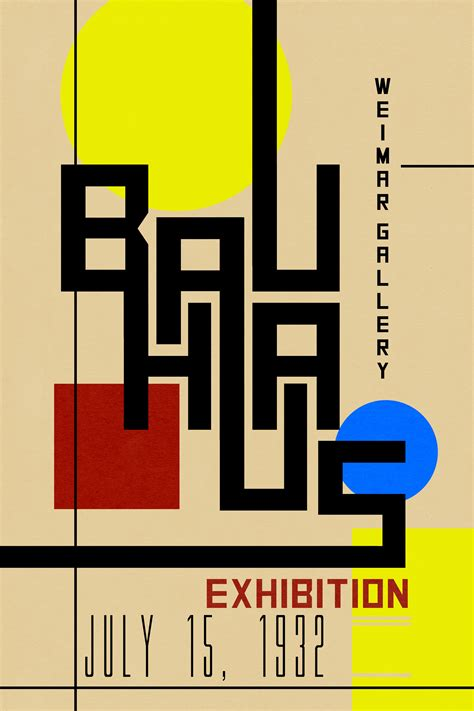 design com bauhaus poster digital reality